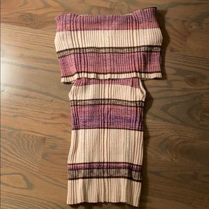 Free People knit tube top
